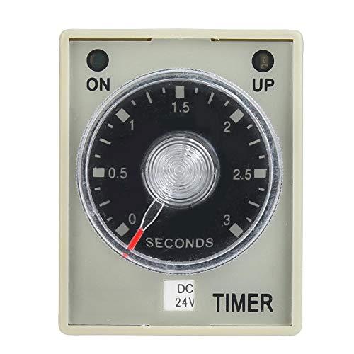 Timers, AH3-3 Timers Elektronisch type Instelbare uitschakelvertraging Timers 8-polig 3S (DC24V)