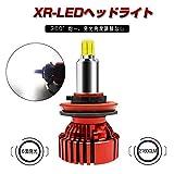 LEDヘッドライト H8 H11 H16 Philips製チップ 車検対応 21600LM 6500K 360°全面発光 12V専用 一体型 LEDフォグランプ 一年保証 即納 2個セット