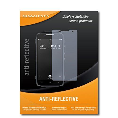 2 x SWIDO® Protector de pantalla Doogee T5 Protectores de pantalla de película