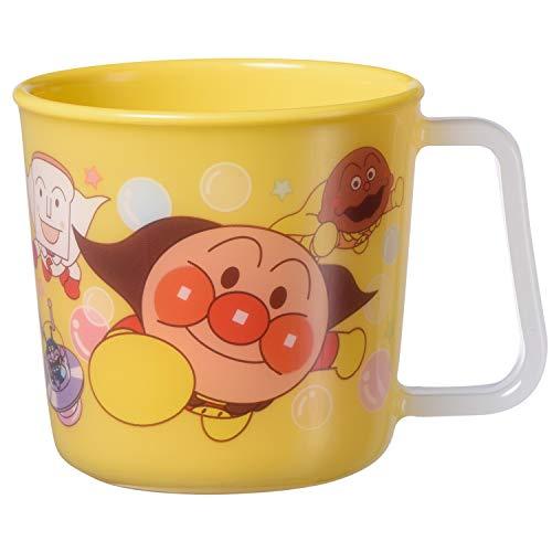 アンパンマン マグカップ イエロー (絵柄がはがれないタイプ)