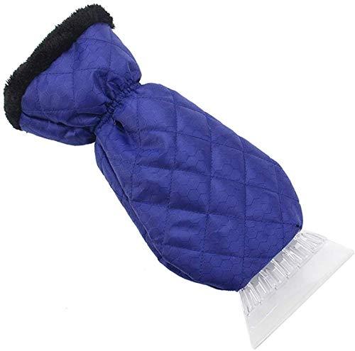 dyudyrujdtry Berühmte Bunte Langlebig Warm Handschuhe Schaber Schnee EIS Bürste Schaufel Entfernung für Winter - Bl