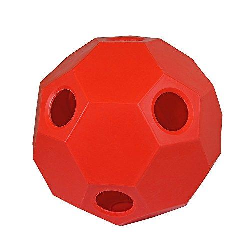 Hay Play Heuball Futterball Heufütterer Pferde Pferdespielzeug rot