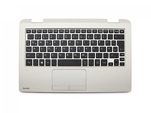 Toshiba Satellite Radius 11 CL10W-C Original Tastatur inkl. Topcase DE (deutsch) schwarz/Gold