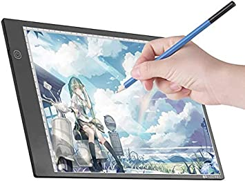 A3 Lelesta Light Box A3 Light Panel Graphic Tablet Light Pad Digital Tablet Copyboard with 3-Level Dimmable Brightness for Tracing Drawing Copying Viewing Diamond Painting Supplies