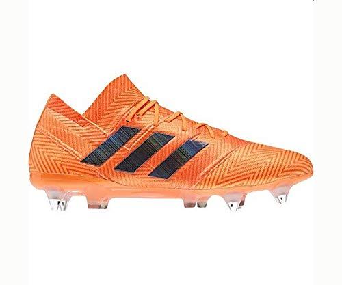 adidas Nemeziz 18.1 SG, Scarpe da Calcio Uomo, Arancione (Zest/Cblack/Solred Zest/Cblack/Solred), 41 2/3 EU