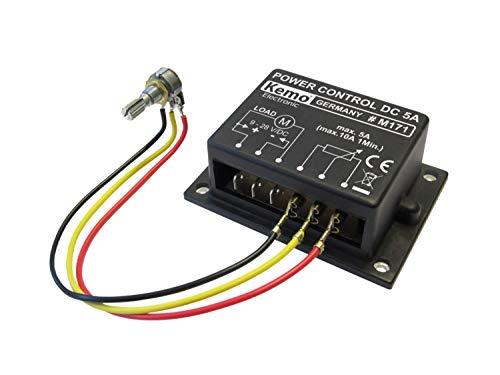 Kemo PWM Leistungsregler 9 - 28 V/DC, max. 10 A M171