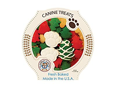 Miles Kimball Claudia's Canine Cuisine - Santa Paws Classic Gourmet Dog Cookies, Assorted, one Size fits All from Claudia's Canine Bakery