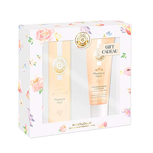 Roger Gallet Pack Magnolia Folie Keulen-extract 30 Ml + Hydraterende Douchegel 50 Ml
