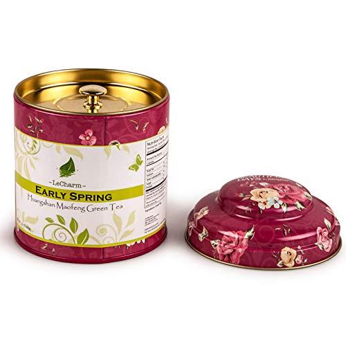 LeCharmGreen Tea Loose Leaf Huangshan Maofeng Preium Quality Hot Tea 65g/2.3 oz