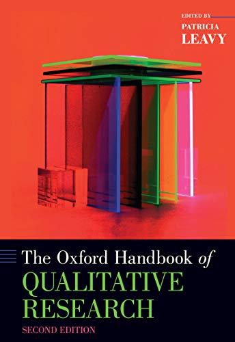 The Oxford Handbook of Qualitative Research (Oxford Handbooks)