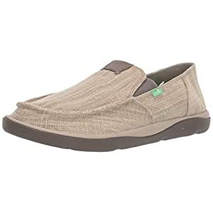 Sanuk Men's Vagabond Tripper Slub Loafer Flat