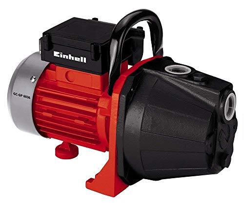 Einhell Gartenpumpe GC-GP 6036 (600 W, max. 4 bar Förderdruck, max. Fördermenge 3600 l/h, max. Saughöhe 8 m, Ein-/Ausschalter, Wassereinfüll-/Wasserablassschraube, Tragegriff)
