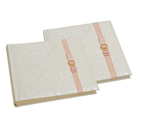 Two wedding item set, Set of photo album + guest book, SET, wedding set, all in one set, white wedding set, book set, wedding gift, gift set