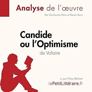 Couverture de Candide ou l'Optimisme de Voltaire
