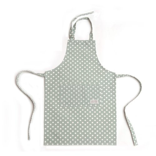 Ochre and Ocre Organic Cotton Adult Kitchen Apron Madelaine Sage