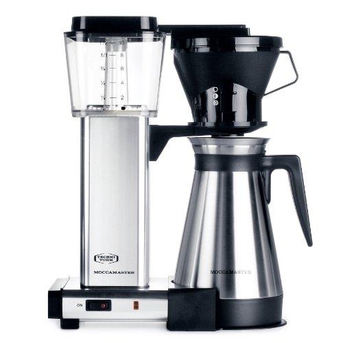 Moccamaster KBT 741 Alu poliert Kaffeemaschine
