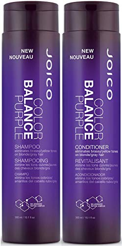 Joico Color Balance Purple Shampoo 10.1 fl oz + Purple Conditioner 10.1 oz Duo by Joico