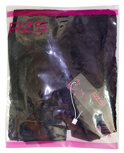 RZS Womens Sexy Lingerie Strap Backless Teddy Dress Comfortable Babydoll Set Plus Size Nightwear (XL, Black)