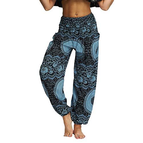 Haremshosen Frauen Große Größen Bunt Lang Baggy Yogahosen Für Damen Muster Unisex Sporthose Hosen Damen High Waist Lockere Schlaghosen Fitness Sport Yoga