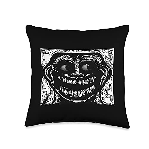 Creepy Troll face Rage Comics Creepy Scary Troll Face Meme...