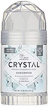 CRYSTAL Deodorant Stick  30003  Unscented 4.25 Ounce