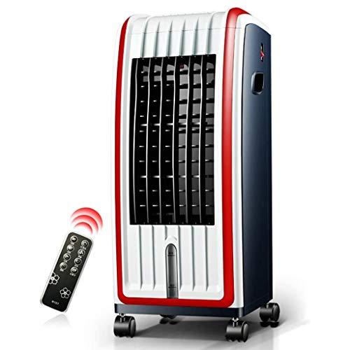 XXCC Bewegende airconditioning, 7 liter grote capaciteit watertank, universeel wiel, mobiel design, afstandsbediening, 75 W instelbaar, 3 windsnelheden ventilatorrefrigeratie
