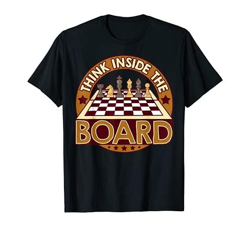 Jeu de réflexion avec citation d'échecs T-Shirt