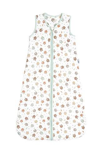 Schlummersack Simply Ganzjahres Babyschlafsack 1.0 Tog - Eulen - 6-18 Monate/90 cm