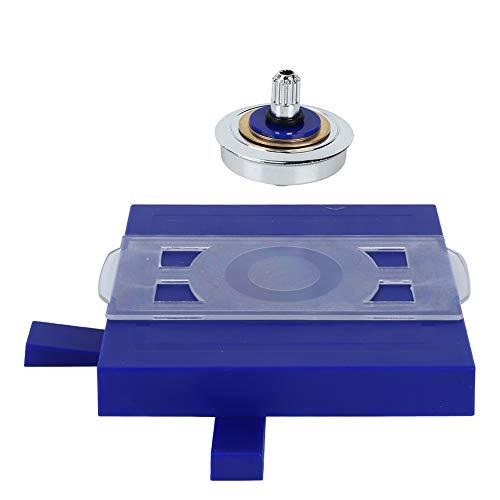VINGVO Magnético, Giro Superior de levitación magnética de Juguete magnético Superior magnético para la coordinación Mano-Ojo para el Desarrollo Intelectual