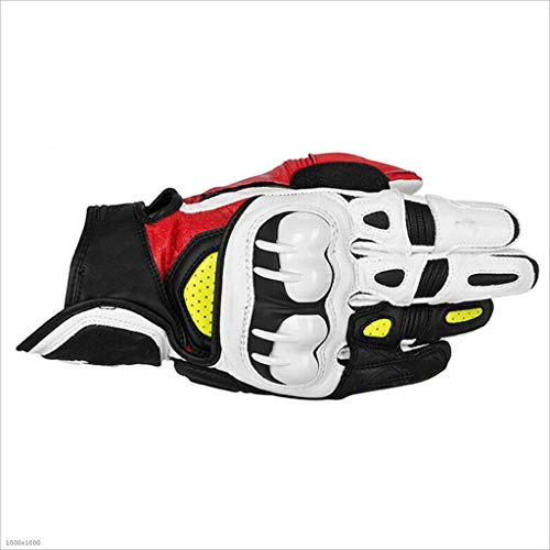 ZDYLL Racing Mountain Bike Bicicleta Ciclismo Off-Road/Dirt Bike Guantes Road Racing Motocicleta Motocross Sports Guantes Touch Recognition Full Finger Glove (Color : B, Tamaño : Metro)