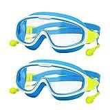 YWSZY Gafas Natacion, Gafas de Campo Ancho Anti-Ultravioleta para...