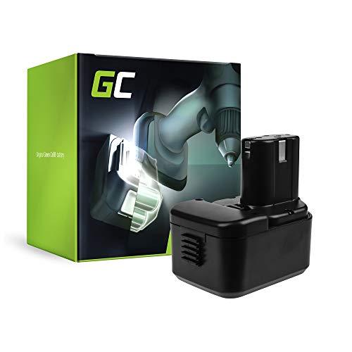 GC (1.5Ah 12V Ni-MH celdas) 310378 Batería para Hitachi de Herramienta Eléctrica