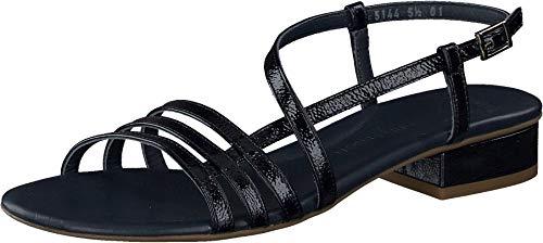 Paul Green Damen SUPER Soft Sandale, Damen Riemchensandalen,Ladies,Women's,Sandaletten,Sommerschuhe,Sommersandalen,bequem,Blau (028),38 EU / 5 UK