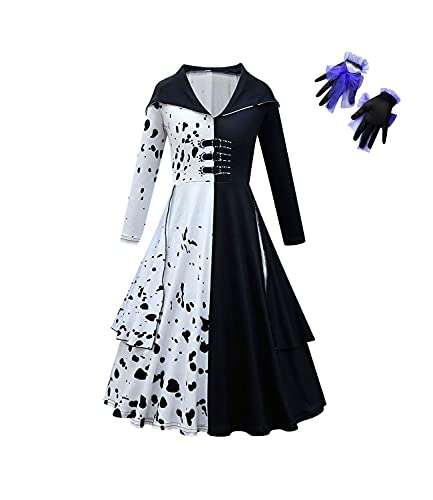 Halloween Girls Costume Movie 2021 Cosplay Sets Halloween Dress Up Outfits with...