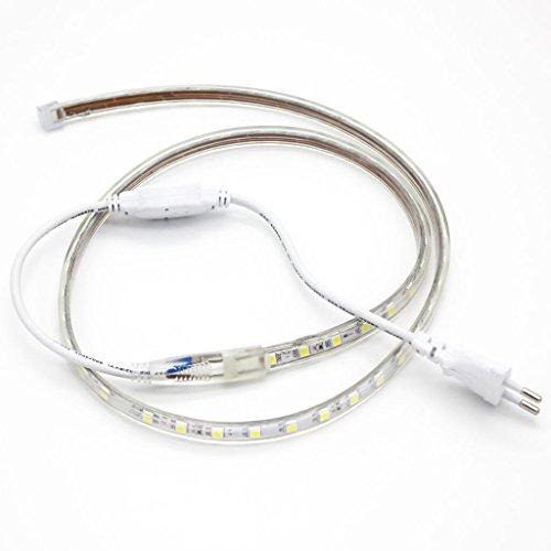 SODIAL 1 pz 100 cm LED Perdita di Luce Sax Repair Tool per Sassofono Clarinetto Flauto Oboe Strumenti a Fiato Parts EU Plug