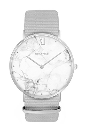 New Trend - Love for Accessories Damen Uhr analog Quarzwerk mit Nylon-Armband nt_07_01_parent7_000645