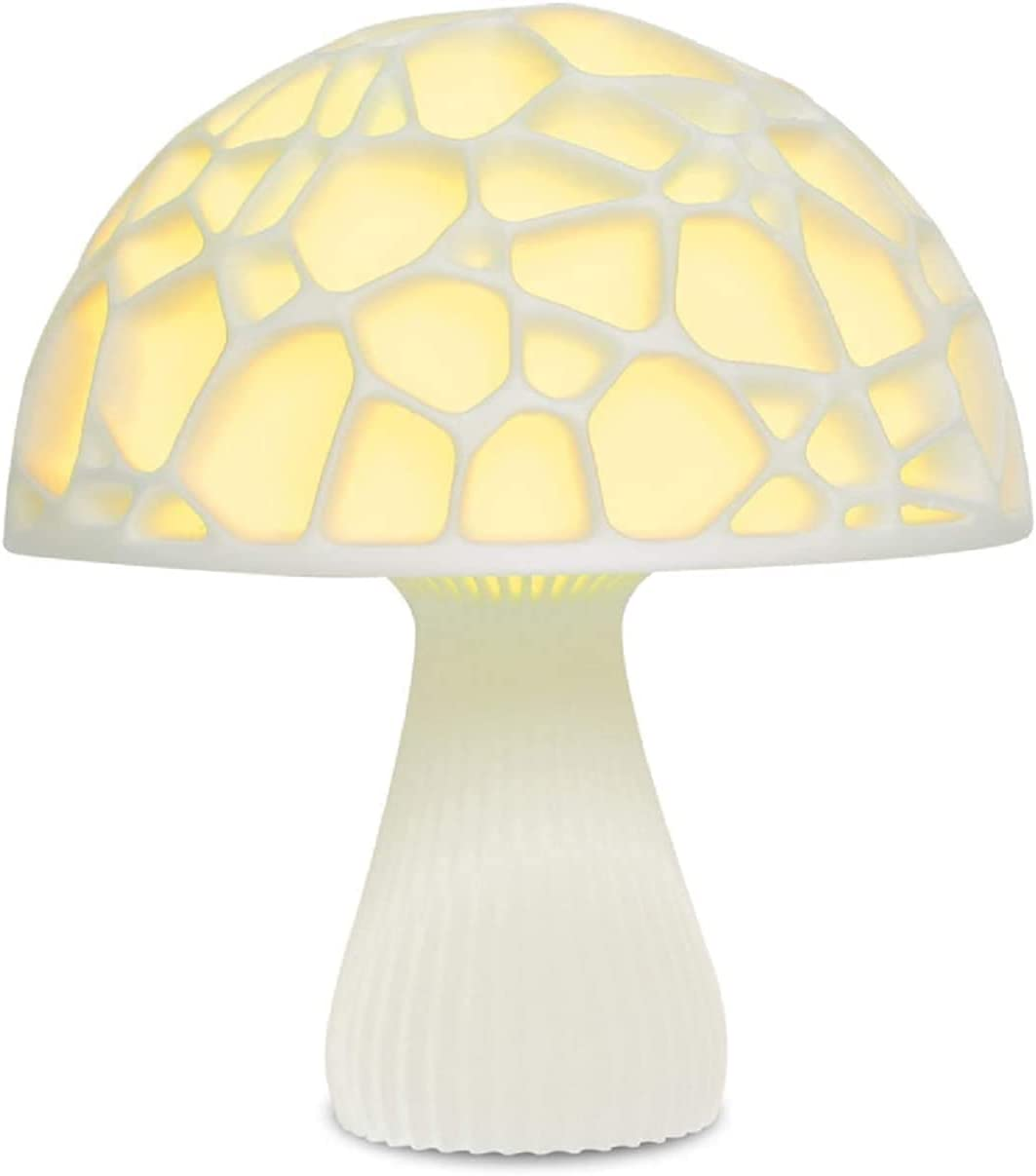 HAITOY Rechargeable NEW before selling LED Night Light with lamp Remote Mushroom Co Directly managed store