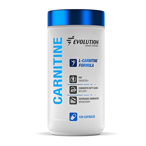 Evolution Advance Nutrition L-Carnitine L-Tartrate Formula for Men and Women  Levocarnitine Amino Acid Supplement Support for Appetite Suppression and Metabolism Boost (120 Capsules, 250 mg)