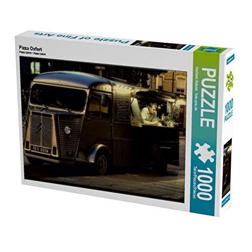 Pizza Oxfort 1000 Teile Puzzle quer