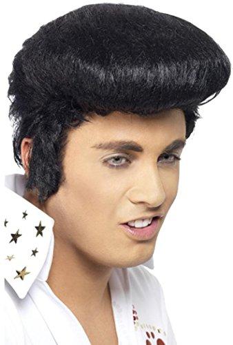 Film & Tv Jurk Party Elvis Deluxe Pruik Heren Hoofddeksels Met Hoge Manchetten & Zijbrandwonden
