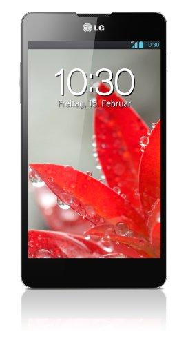 LG E975 Optimus G Smartphone (11,9 cm (4,7 Zoll) Touchscreen, Quad-Core, 1,5GHz, 13 Megapixel Kamera, microUSB, Android 4.1) schwarz