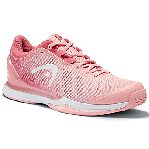 HEAD Sprint Pro 3.0 Women RSWH, Zapatillas de Tenis Mujer, Rosa y Blanco, 38 EU