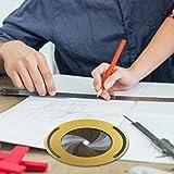 awhao Strumento di Disegno Circolare, Piccoli Strumenti di Disegno Regolabili per disegnare Cerchi, Tornio, Appassionati di Design del Legno - 4,9 Pollici gorgeously