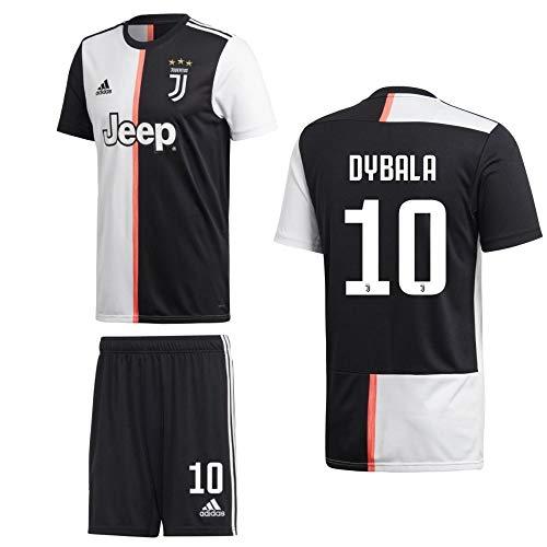 adidas Fußball Juventus Turin FC Home Kit 2019 2020 Heimset Kinder Dybala 10 Gr 176