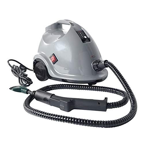 Dameng 1500W Limpiador de Vapor portátil, Multiuso presurizado portátil para eliminación de Manchas Vapor Alfombras Asientos de Coche Cocina