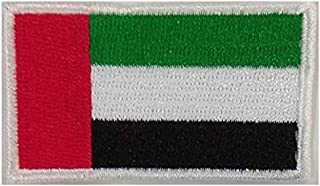 UAE Flag Patch Embroidery Patches for Clothes Bags