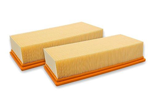 vhbw 2x filtro plisado plano compatible con Hilti VC 300