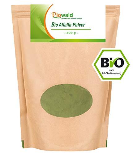 BIO Alfalfa Pulver - 500g