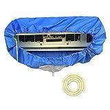 エアコン 洗浄 シート カバー 壁掛け 室内用 排水 Lily-Mai エアコン 掃除 グッズ エアコン洗浄スプレーと併用 (ホース長:2m)