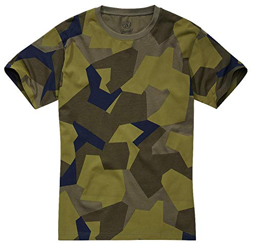 Brandit T-Shirt, Swedish Camo 7XL